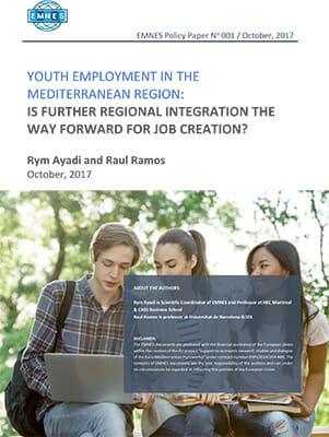 EMNES_Policy_Paper_001-Youth employment in the Mediterranean region-slider