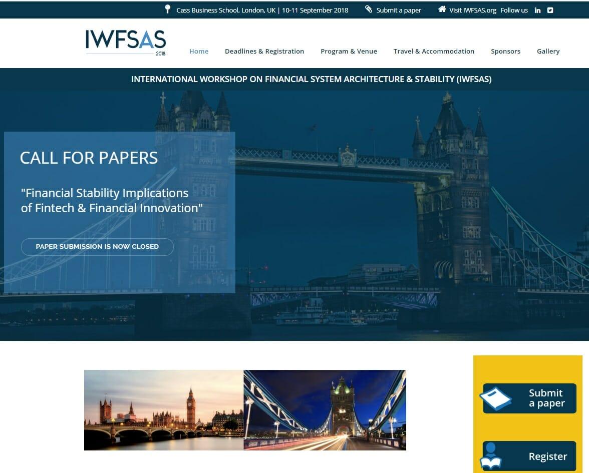 IWFSAS 2018
